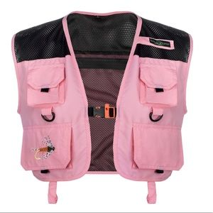 Lucky Bums Kid's Adventure Vest, Pink, Small, NWT